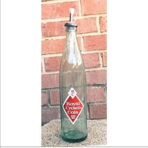 Repurp'd '64  RC Cola Bottle with Metal Po…